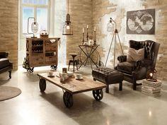 Muebles y decoración de interiores u2013 industrial maisons du monde