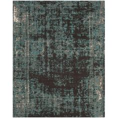 Safavieh Classic Vintage Teal/ Brown Cotton Distressed Rug (8' x 10')