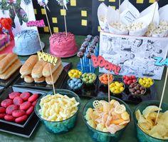 mcompany style: Fiesta de Cumpleaños de Superhéroes