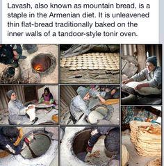 Armenian bread: Lavash
