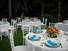 Villa Verano was the setting for this garden wedding in June.
