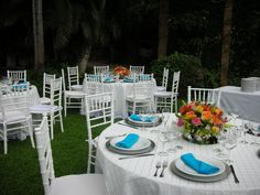 Villa Verano was the setting for this garden wedding in June.