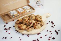 RECEPT: cranberry white chocolate cookies met pindastukjes en amandelen