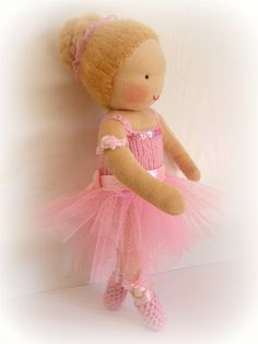 Waldorf doll    ballerina doll    JUST ON REQUEST by Mohinidolls