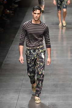 Dolce & Gabbana Spring/Summer 2016 Menswear Collection