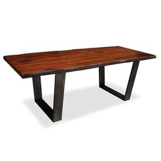 Soho Live Edge Dining Table | Overstock.com Shopping - Great Deals on South Cone Home Dining Tables