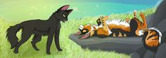 Can I Help You? by Graystripe64 on deviantART Hollyleaf and Sol
