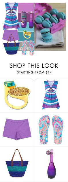 """""""Like a macaroon"""" by subvilli on Polyvore featuring Anastazio, Sonia by Sonia Rykiel, Lilly Pulitzer, Jennifer Lopez, Summer and contestentry"""