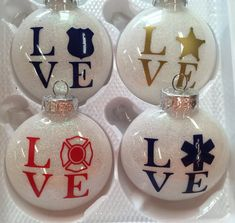 Beadery Holiday Beaded Ornament Kit, by Victorian Baubles, Makes 12 Ornaments - My Cute Christmas Vinyl Christmas Ornaments, Christmas Craft Show, Glitter Ornaments, Beaded Ornaments, Christmas Balls, Christmas Projects, Holiday Crafts, Christmas Decorations, Christmas Ideas