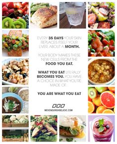 You are definitely what you eat... Your ailments so show later in years from poor eating as a child!   Expect it ages 35+... Dr Oz and others say you can reverse things and extend your life in ways....