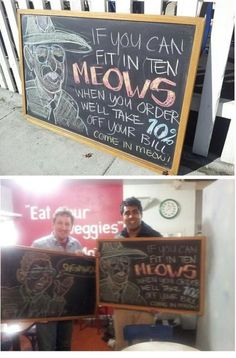 So my buddy posted a sign outside his restaurant at lunch and by dinner, this happened… - Humour Spot Best Friend Quotes Funny, Funny Quotes, Funny Memes, Funny Shit, Funny Stuff, Funny Pranks, Movie Quotes, Broken Lizard, Restaurant Signs