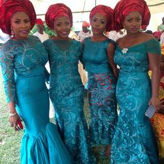 Just In Time! Stunning, Glamorous & Breathtakingly Beautiful Aso Ebi Styles - Wedding Digest NaijaWedding Digest Naija