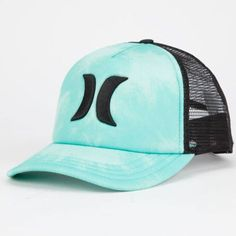 Hurley One   Only Womens Trucker Hat Turquoise One Size For Women  25111724101 Country Girls Outfits 5b13336d020