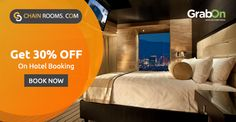 Get Luxury #Hotel Rooms At Low Prices. Book With #ChainRooms & Get 30% Off. http://www.grabon.in/chainrooms-coupons/ #SaveOnGrabOn