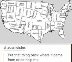 American States Reorganized<<<I would live in the same state.<<<Florida would be a lot colder for me!!!