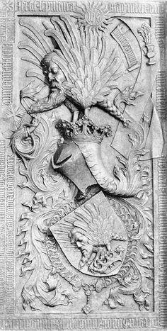 Perényi János tárnokmester sírköve - Címerhatározó/Perényi címer – Wikikönyvek
