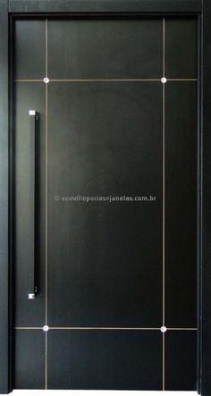 Flush Door Design, Door And Window Design, Wooden Front Door Design, Bedroom Door Design, Door Gate Design, Wooden Front Doors, Door Design Interior, Modern Exterior Doors, Modern Door
