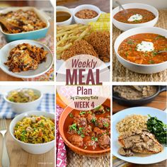 Slimming Eats Weekly Meal Plan – Week 4 Here is week 4 for you all. Feel free to come back and leave a comment. Thebiggest response when deciding to bring these to you each week was to include all meals i.e. Breakfast, Lunch or Dinner, but for those who just want a weekly lunch or...Read More »