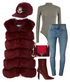 """Oxblood Lover"" by molauren on Polyvore featuring Vetements, Gucci, WearAll, Yves Saint Laurent, Cara Mila and Prada"