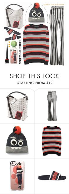 """Macaroon"" by angiesprad ❤ liked on Polyvore featuring Loewe, Altuzarra, The Elder Statesman, Casetify, Opening Ceremony and Christian Louboutin"