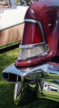 1957 Lincoln Continental Mark II tail fin.  Photography by David E. Nelson