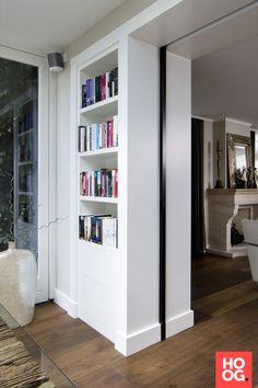 Steel sliding door in living room House Design, Internal Sliding Doors, Home, House Doors, Doors Interior, Living Room Interior, House Interior, Interior Design Living Room, Home Interior Design