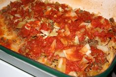 Cabbage Roll Casserole ~     Does your family need to eat more cabbage? Well, here's a Tasty Cabbage Roll Casserole recipe that is sure to delight. This cabbage casserole recipe includes ground beef and brown rice that will fill you up. Garlic, onion, apple cider vinegar, honey and chili powder fill this dish with flavor.    Serves: 4    Cooking Time: 1 hr