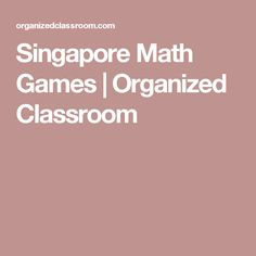 Math games for elementary classrooms usually means pulling out all sorts of manipulatives, but it doesn't have to. Second Grade Math, First Grade Math, Math Tutor, Teaching Math, Math Classroom, Classroom Organization, Engage Ny Math, Math Made Easy, Math Addition