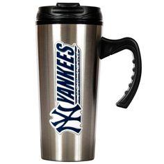 MLB New York Yankees Slim Stainless Steel Travel Mug