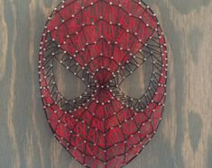 Spider-man String Art