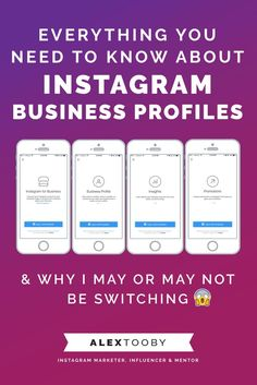 Everything you need to know about Instagram Business Profiles & why I, and Instagram marketer, may or may not be switching. Warning: controversy ahead!