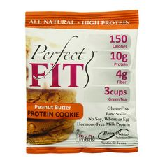 Perfect Cookie Protein Cookie Peanut Butter 1.41 Oz Case Of 12