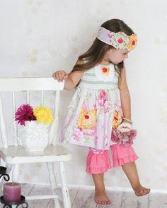 Giggle Moon Honeycomb Chloe Capri Set Preorder 12 Months to 10 Years