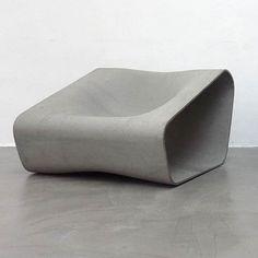 Outdoor concrete furniture by Rainer Mutsch (Vienna)