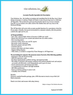 nice best account payable resume sample collections