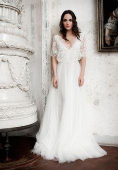 10 Beautiful Boho Wedding Gowns: Daalarna