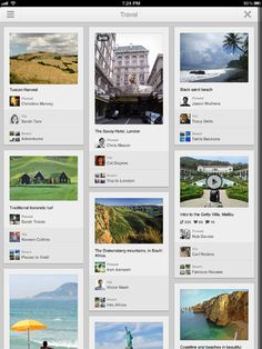 Pinterest iPad