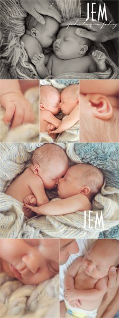 Newborn Twins: LOVE that very top photo. (mom hand on girl - Dad hand on boy and make sure they are showing their wedding bands)