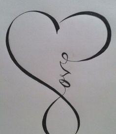 Love heart tattoo girly   Tattoos   Pinterest   Love Heart Tattoo ...