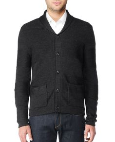 Cardigan for men. Yes, please.