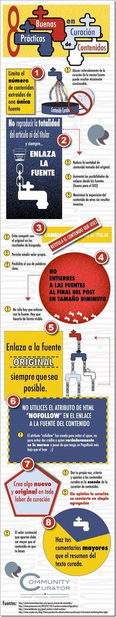 8 reglas para la curación de contenidos (en español).