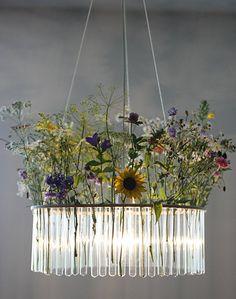 flora wild flower chandelier