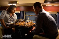 Young Professor X and Young Magneto play chess - X-Men Days of Future Past