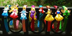 I'm anti-princess but these are super cute and creative for all my princess-loving friends. :)