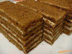 Picture of Recept - Výborná kakaová marlenka Armenian Recipes, Ukrainian Recipes, Russian Recipes, Armenian Food, Fun Desserts, Dessert Recipes, Czech Recipes, Honey Cake, Pastry And Bakery