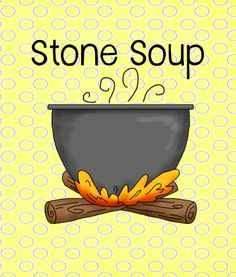 "Stone Soup idea and FREE printable. Each child bring in a can of ""something"" to add to the stone soup and cooked it in the crockpot for all to eat together. Lots of fun and the kids love contributing to their soup! Kindergarten Literacy, Classroom Activities, Book Activities, Kindergarten Graduation, Preschool Books, Thanksgiving Preschool, Thanksgiving Feast, Thanksgiving Writing, Cooking In The Classroom"