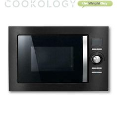 Cookology Black Built-in Combi Microwave Convection Oven & Grill Integrated · $159.99 Built In Microwave Oven, Microwave Convection, Kitchen Appliances, Building, Black, Diy Kitchen Appliances, Home Appliances, Black People, Buildings