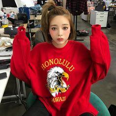 Pin on Korean makeup look Ulzzang Fashion, Harajuku Fashion, Ulzzang Girl, Asian Fashion, Korean Makeup Look, Korean Beauty, Asian Beauty, Pretty Asian, My Hairstyle