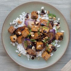Sichuan-Style Eggplant with Tofu
