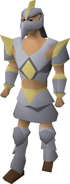 Pls redo male Armadyl armor look I here to kill snek not look like I ride one...